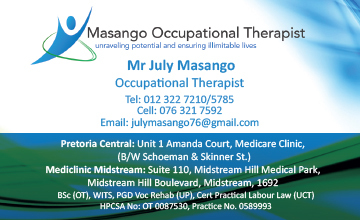Masango Occupational Therapist
